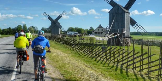 Biking in Baltics